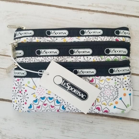 Lesportsac Handbags - *NWT LeSportsac Make Up Cosmetic Bag